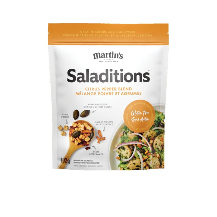 Food & Drink - Martin's - Saladitions, Citrus Pepper, 102g