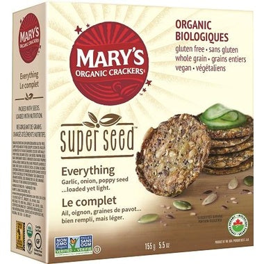 Food & Drink - Mary's Organic - Super Seed - Everything, 155G