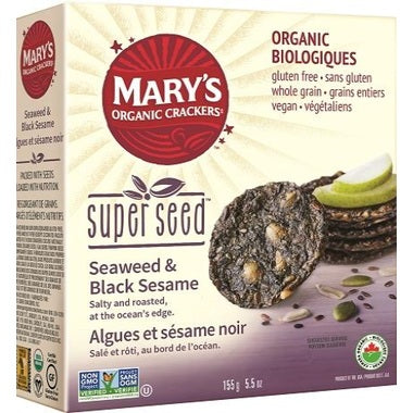 Food & Drink - Mary's Organic - Super Seed - Seaweed&black Sesame, 155G