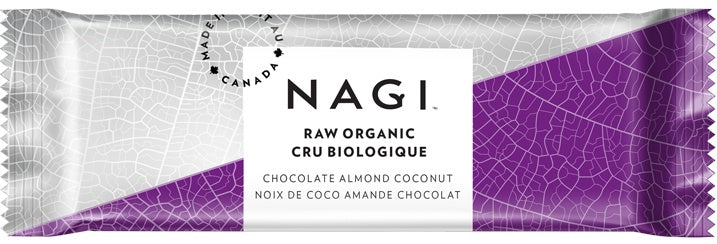 Food & Drink - NAGI - Chocolate Almond Bars, 58g