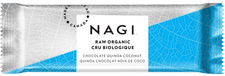 Food & Drink - NAGI - Chocolate Quinoa Coconut Bar, 53g