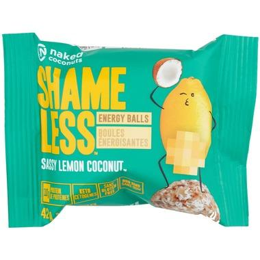 Food & Drink - Naked Coconuts - Shameless Balls - Lemon Coconut, 42g