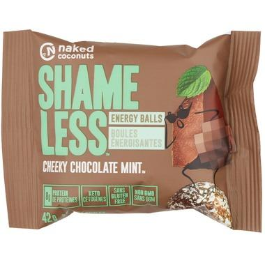 Food & Drink - Naked Coconuts - Shameless Balls - Mint Chocolate, 42g