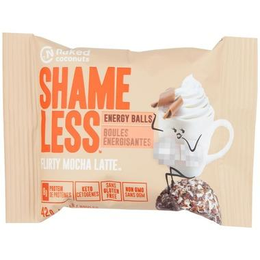 Food & Drink - Naked Coconuts - Shameless Balls - Mocha Latte, 42g