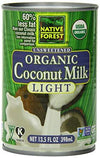 Food & Drink - Native Forest - Organic Light Coconut Milk, 400ml