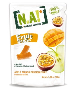 Food & Drink - Nature Addicts Natural Fruit - Apple/mango Fruit Stick,  30g
