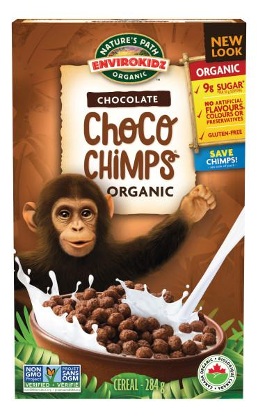 Food & Drink - Nature's Path - Envirokidz Org Choco Chimps - 284g