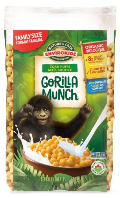 Food & Drink - Nature's Path - EnviroKidz Organic Gorilla Munch, 650g