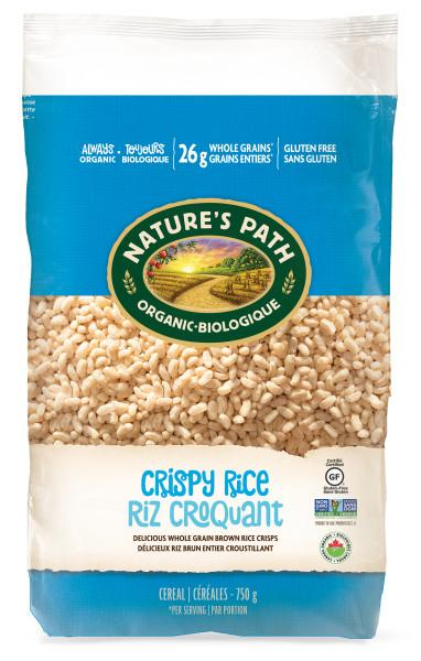 Food & Drink - Nature's Path - Organic Crispy Rice Cereal, 750g