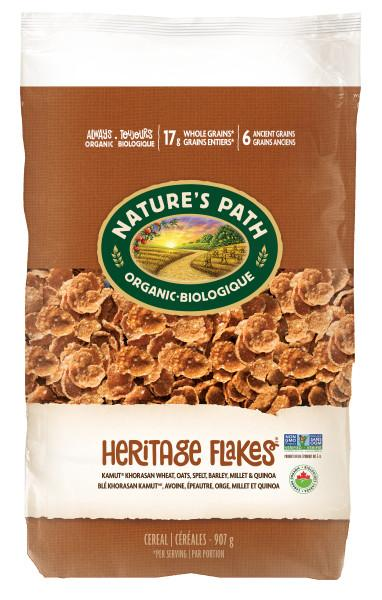 Food & Drink - Nature's Path - Organic Heritage Flakes, 750g