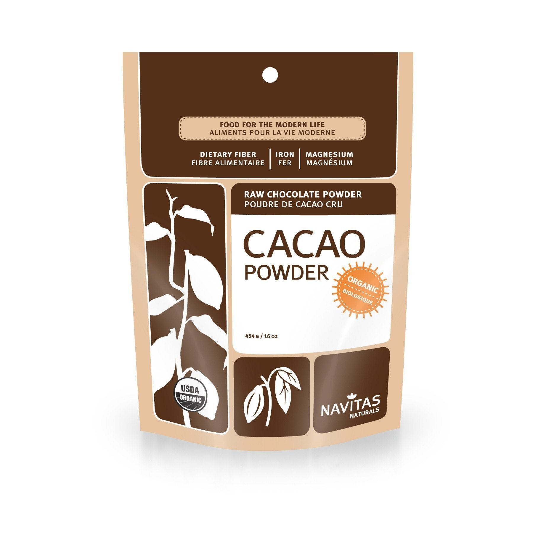 Food & Drink - Navitas - Cacao Power Powder- 454g
