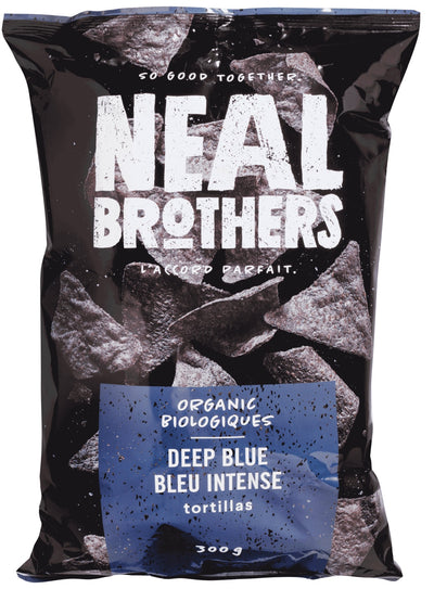 Food & Drink - Neal Brothers - Organic Deep Blue Tortilla Chips, 300g