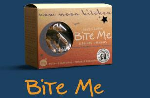 Food & Drink - New Moon Kitchen - Bite Me - Seed & Raisin Cookies, 275g