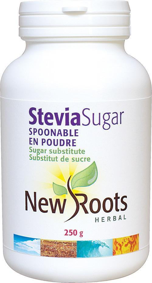 Food & Drink - New Roots Herbal - Spoonable Stevia Sugar, 250g