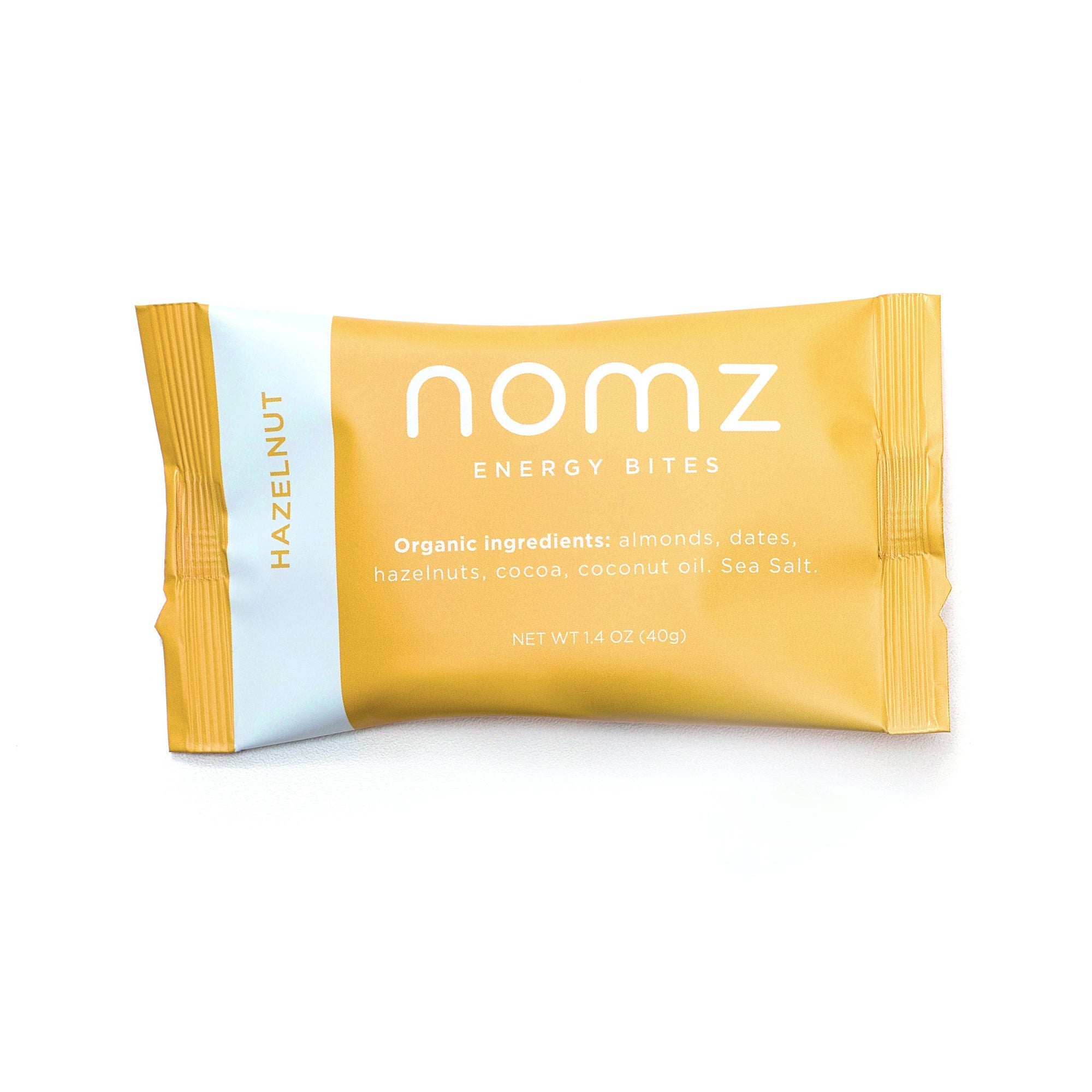Food & Drink - Nomz - Energy Bites - Hazelnut - 40g