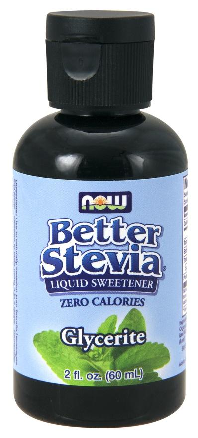 Food & Drink - NOW - Better Stevia Alcohol Free, 60ml