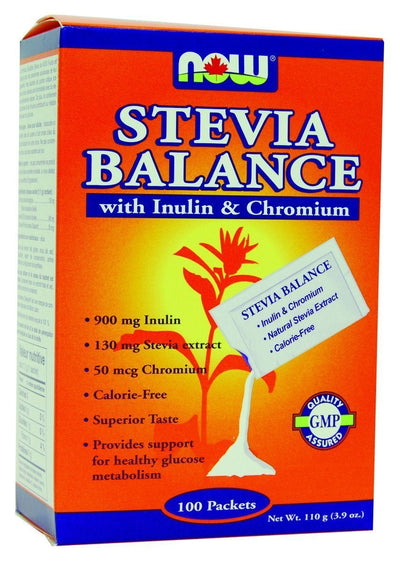 Food & Drink - NOW - Better Stevia Balance, 100 Packets