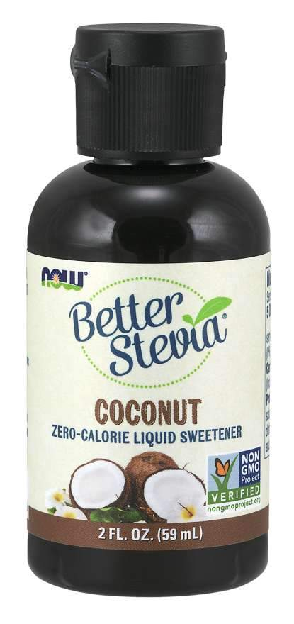 Food & Drink - NOW Better Stevia Coconut 59ml