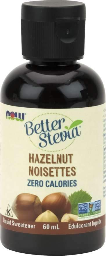 Food & Drink - NOW Better Stevia Hazelnut 60ml