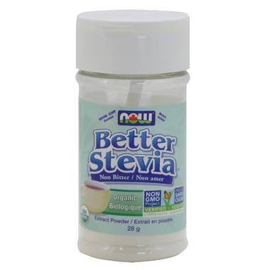 Food & Drink - NOW - Better Stevia Powder - 28g