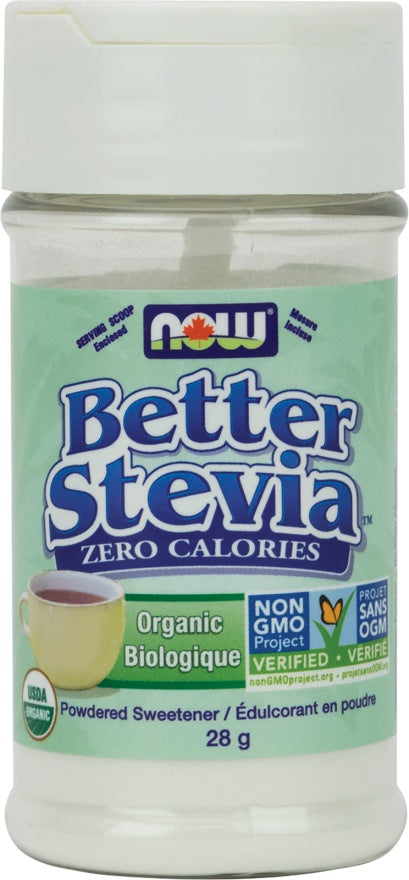 Food & Drink - NOW Better Stevia Powder 28g