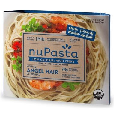 Food & Drink - NuPasta Organic  Konjac Angel Hair Pasta 210g