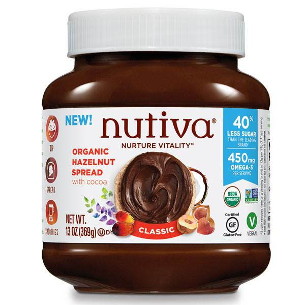 Food & Drink - Nutiva - Hazelnut Spread-classic - 369g