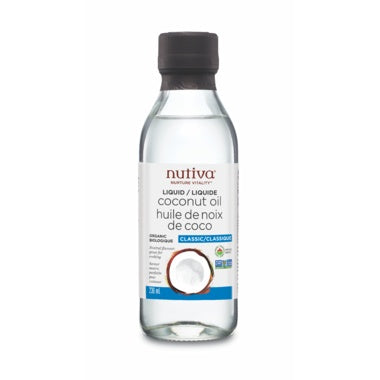 Food & Drink - Nutiva Liquid Coconut Oil - 236ml