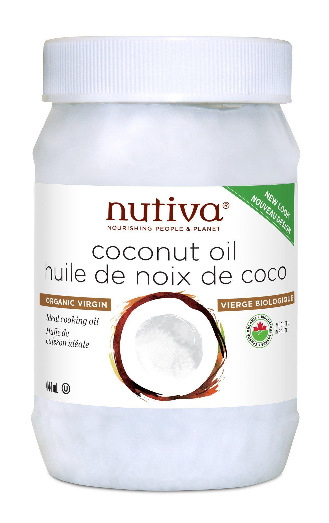 Food & Drink - Nutiva - Organic Virgin Coconut Oil - 445ml