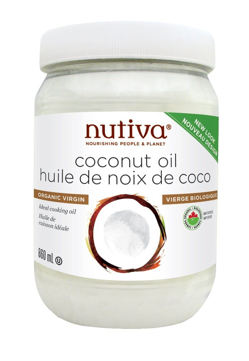 Food & Drink - Nutiva - Organic Virgin Coconut Oil - 860ml