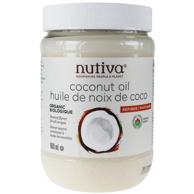 Food & Drink - Nutiva Refined Coconut Oil 860ml