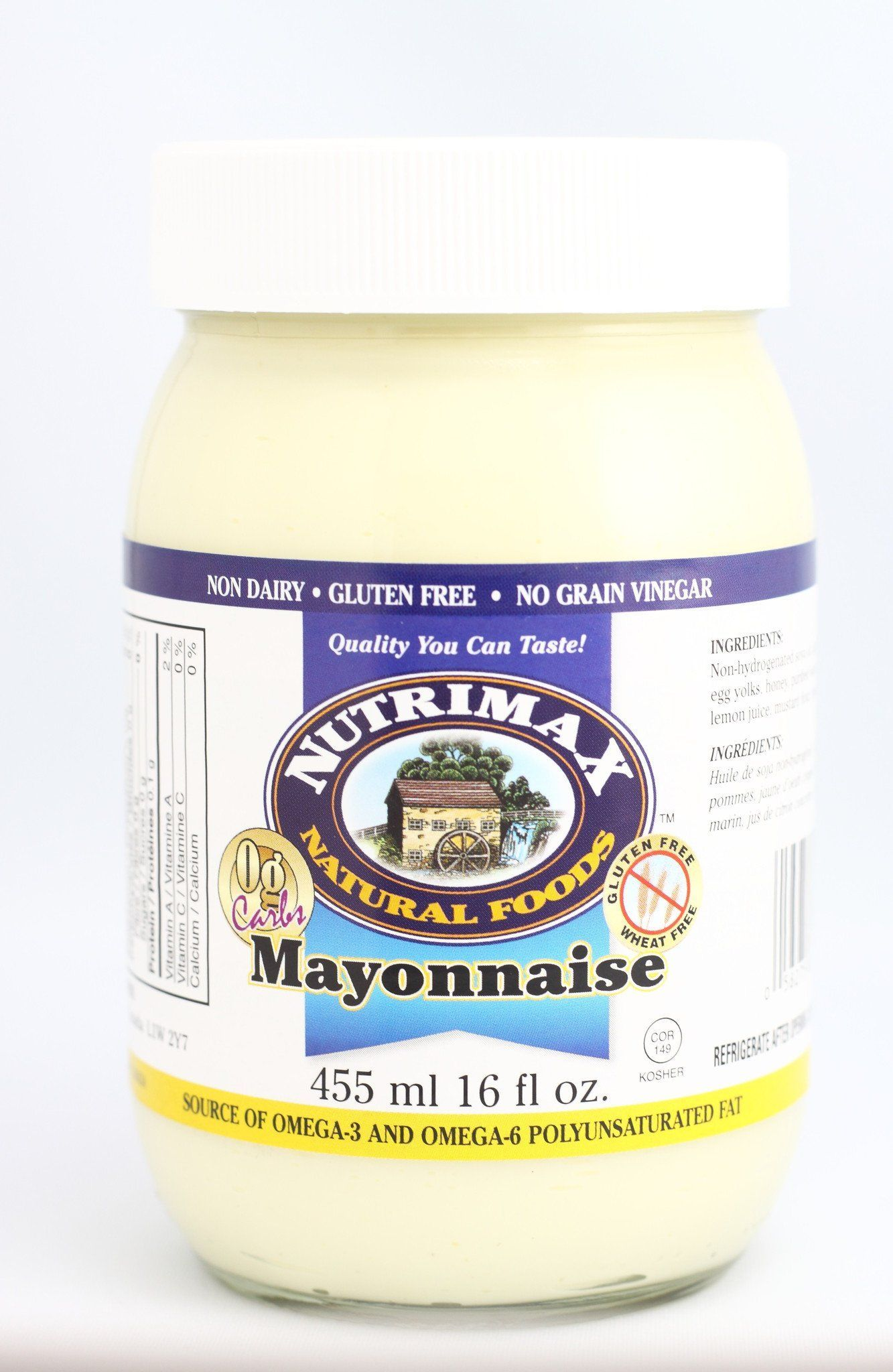 Food & Drink - Nutrimax - Mayonnaise, 455ml