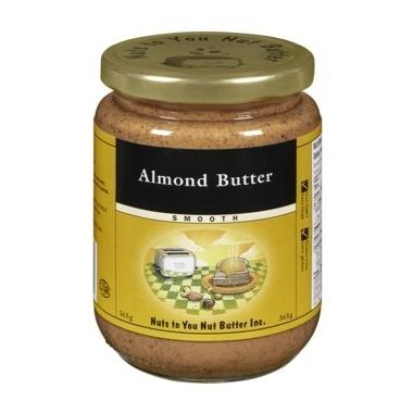 Food & Drink - Nuts Nuts To You Nut Butter Inc. Smooth Almond Butter 365g