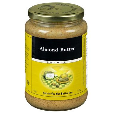 Food & Drink - Nuts Nuts To You Nut Butter Inc. - Smooth Almond Butter 735g