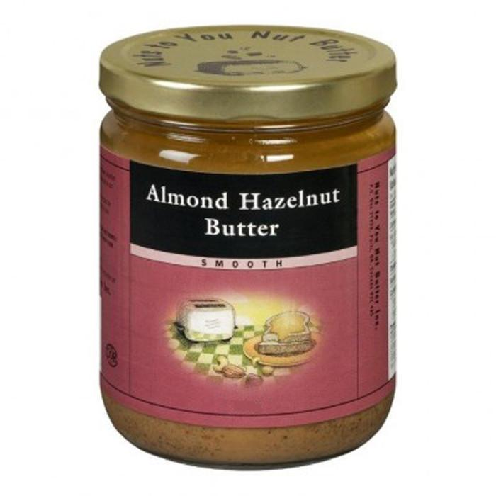 Food & Drink - Nuts To You Nut Butter - Almond Hazelnut Butter, 365g