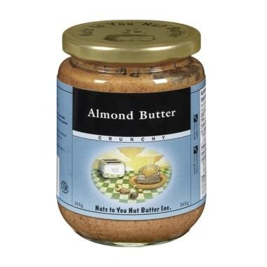 Food & Drink - Nuts To You Nut Butter Inc. Crunchy Almond Butter 365g