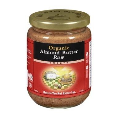 Food & Drink - Nuts To You Nut Butter Inc. Organic Raw Almond Butter 365g