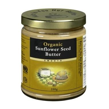 Food & Drink - Nuts To You Nut Butter Inc. Organic Smooth Sunflower Seed Butter 250g