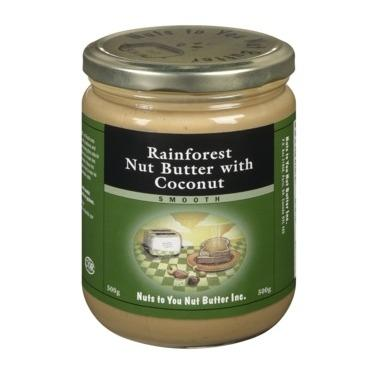 Food & Drink - Nuts To You Nut Butter Inc. - Rainforest Nut Butter With Coconut, 500g