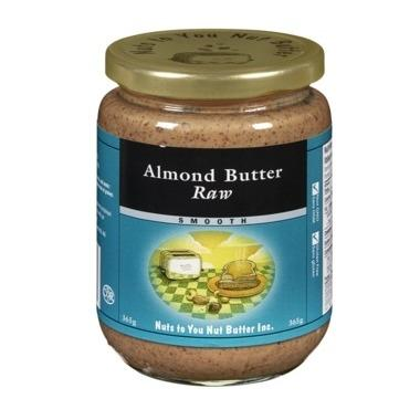 Food & Drink - Nuts To You Nut Butter Inc. Raw Almond Butter 365g