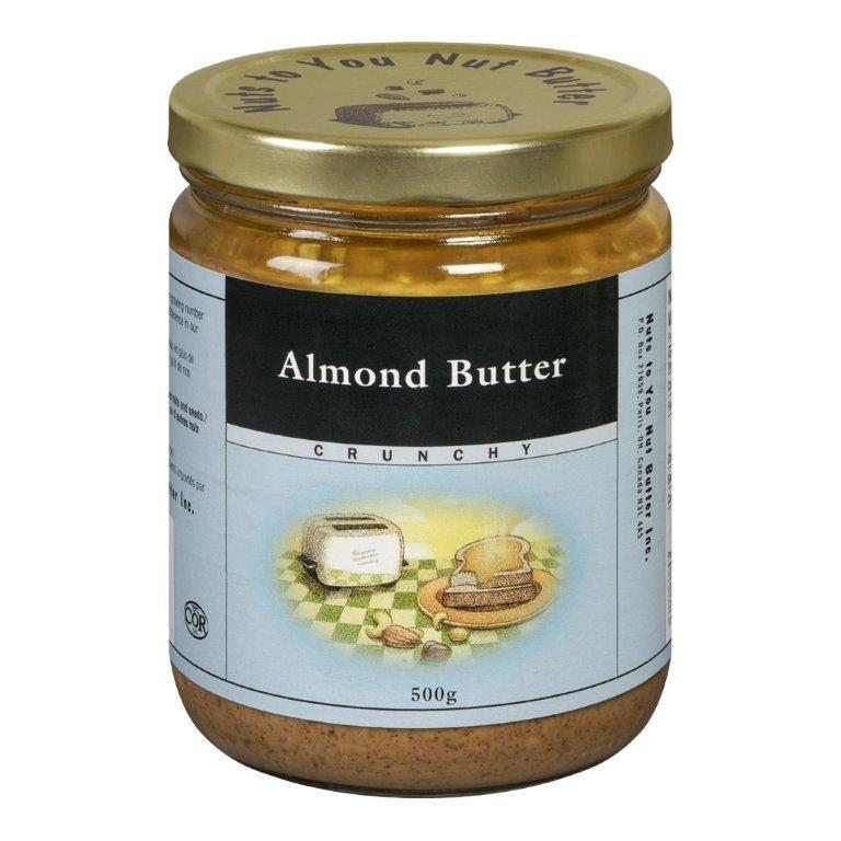 Food & Drink - Nuts To You Nut Butter - Organic Crunchy Almond Butter, 365g