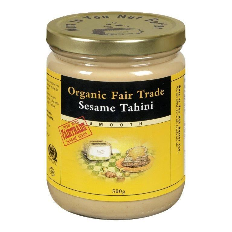 Food & Drink - Nuts To You Nut Butter - Organic Fair Trade Smooth Tahini, 500g