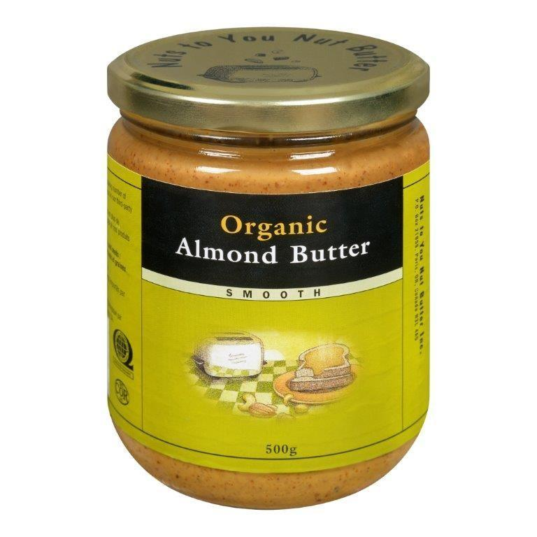 Food & Drink - Nuts To You Nut Butter - Organic Smooth Almond Butter, 365g