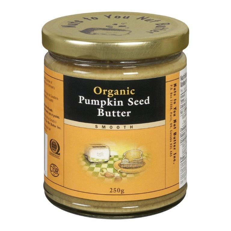 Food & Drink - Nuts To You Nut Butter - Organic Smooth Pumpkin Seed Butter, 250g