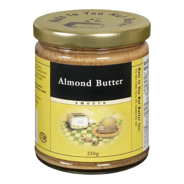 Food & Drink - Nuts To You Nut Butter - Smooth Almond Butter, 250g