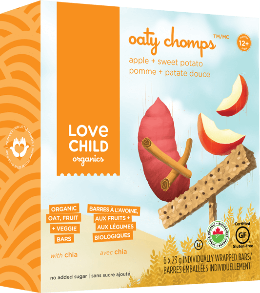 Food & Drink - Oaty Chomps - Apple Sweet Potato, 6x23g