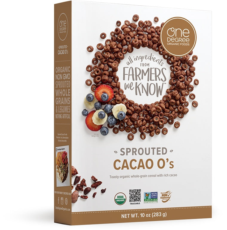 Food & Drink - One Degree - Sprouted Cacao O's, 283g