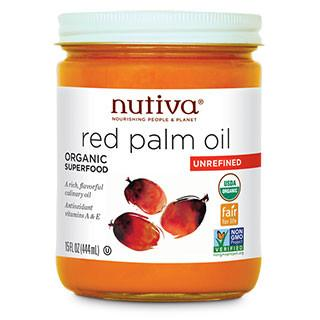 Food & Drink,Organic,Fair Trade,Non GMO - Nutiva - Red Palm Oil, 444ml