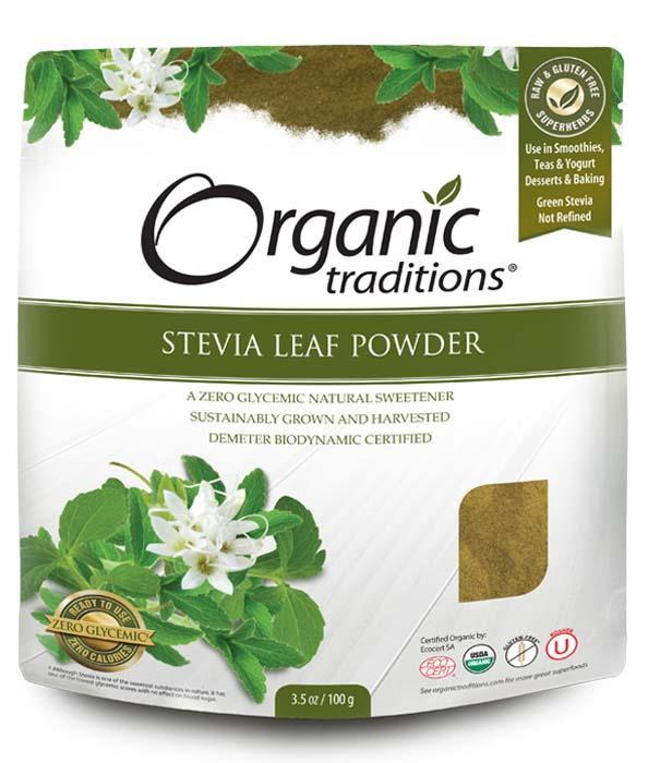 Food & Drink - Organic Green Stevia Leaf Powder
