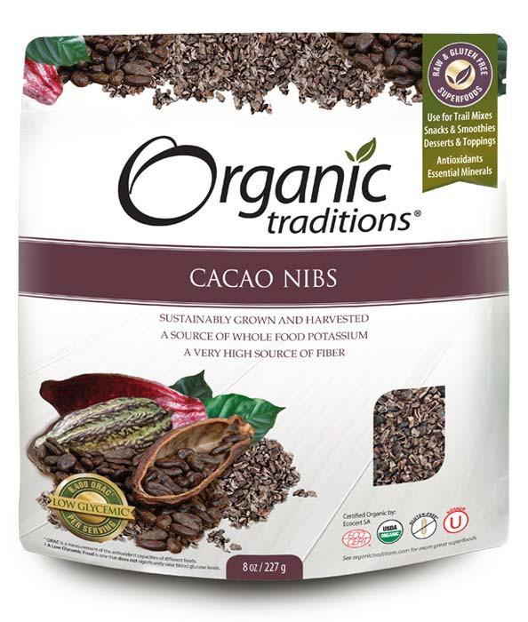 Food & Drink - Organic Traditions - Cacao Nibs, 454g